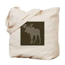 Chocolate Moose Rustic Tote Bag