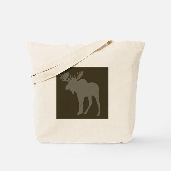 Chocolate Moose Rustic Tote Bag