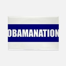 Obamanation Rectangle Magnet