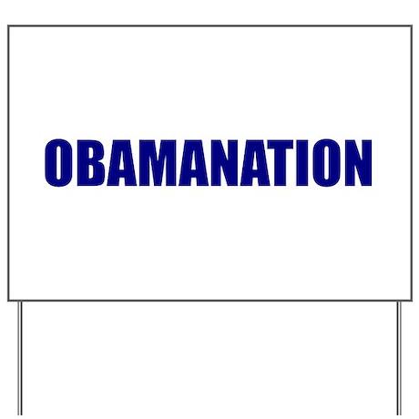 Obamanation Yard Sign