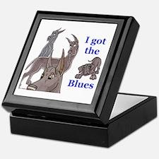 I Got The Blues Keepsake Box