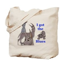 I Got The Blues Tote Bag