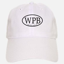 WPB West Palm Beach Oval Baseball Baseball Cap