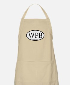 WPB West Palm Beach Oval BBQ Apron
