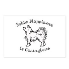 Eskie Happiness Postcards (Package of 8)