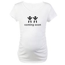 Coming Soon Twins Shirt