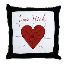 Cute Stink Throw Pillow