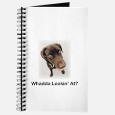 Chocolate Labrador - Whadda L Journal