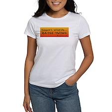 Support Wildlife - Raise Twin Tee