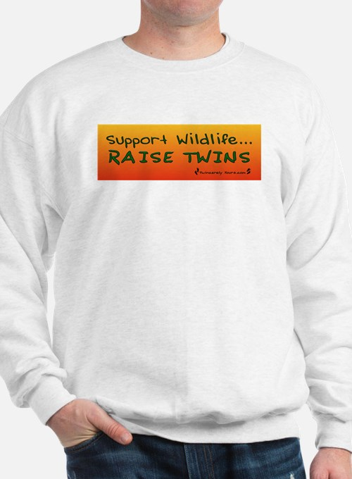 Support Wildlife - Raise Twin Jumper