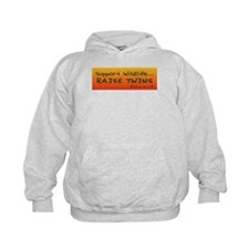 Support Wildlife - Raise Twin Hoody