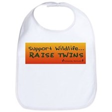Support Wildlife - Raise Twin Bib