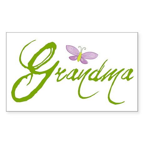 Grandma Rectangle Sticker