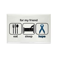 Friend ESHope Colon Rectangle Magnet