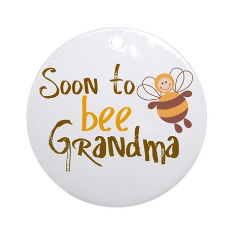 Soon to be Grandma Ornament (Round)