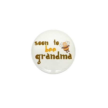 Soon to be Grandma Mini Button