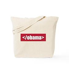 </obama> Tote Bag