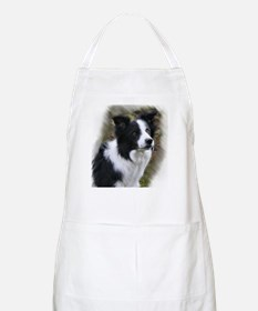 Border Collie Art Apron