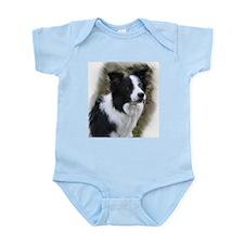 Border Collie Art Infant Bodysuit