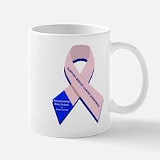 Male Breast Cancer Mug