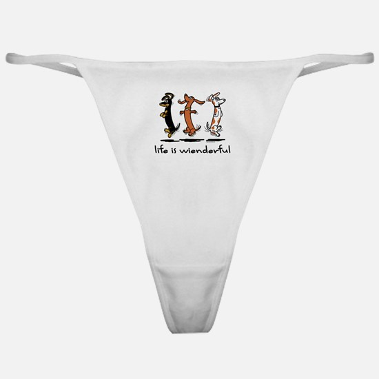 Life Is Wienderful Classic Thong