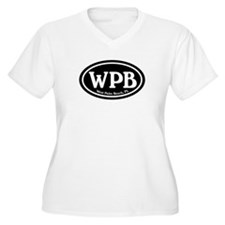 WPB West Palm Beach Oval T-Shirt