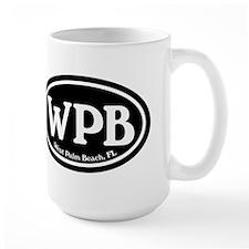 WPB West Palm Beach Oval Mug