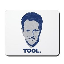 Geithner Tool Blue Distressed Mousepad