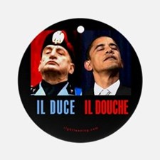 Il Douche anti-Obama Ornament (Round)