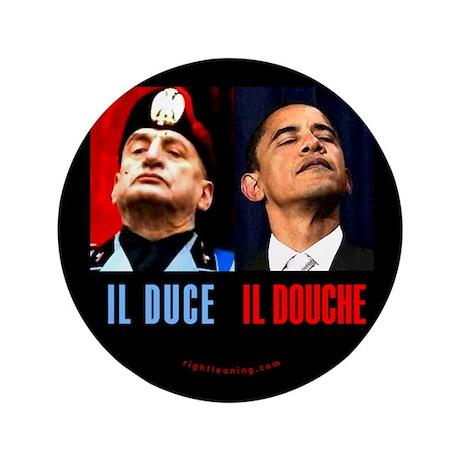 """Il Douche anti-Obama 3.5"""" Button"""
