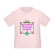 -Princess Kailey 10th Birthday T