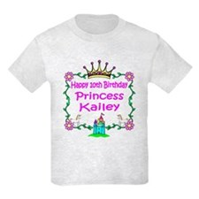 -Princess Kailey 10th Birthday T-Shirt