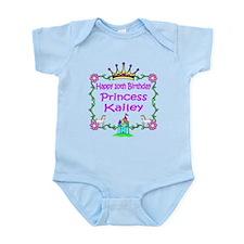 -Princess Kailey 10th Birthday Infant Bodysuit