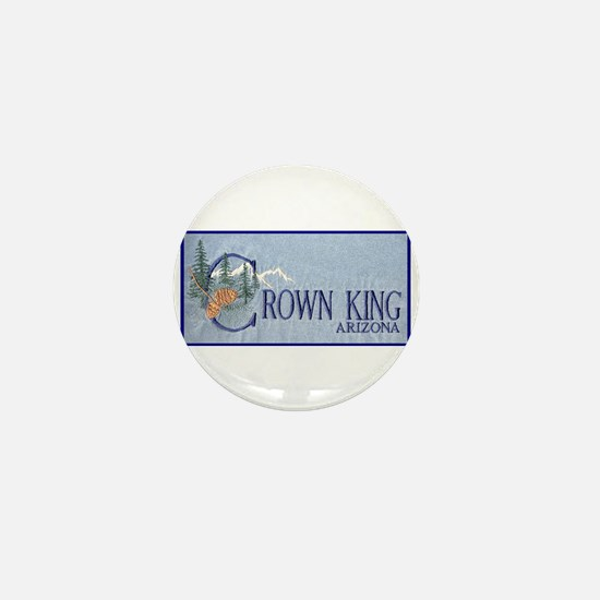 Crown King Mini Button
