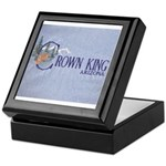 Crown King Keepsake Box