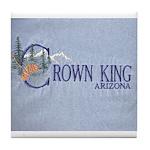Crown King Tile Coaster