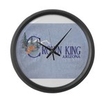 Crown King Large Wall Clock