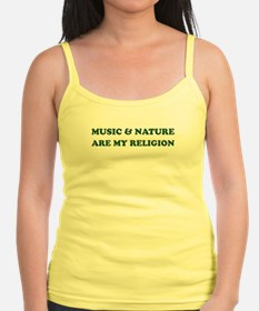 Music & Nature Are My Religion Shirt