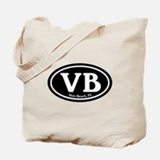 VB Vero Beach Oval Tote Bag