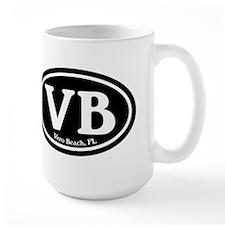 VB Vero Beach Oval Mug