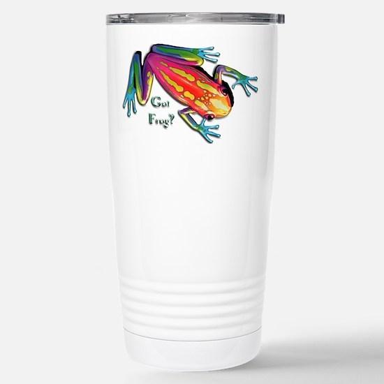 Got Frog? Stainless Steel Travel Mug
