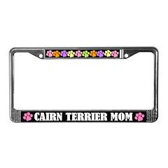 Cairn Terrier Mom License Frame Gift