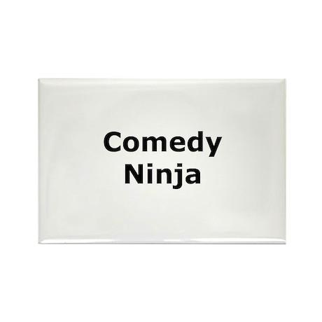 Comedy Ninja Rectangle Magnet