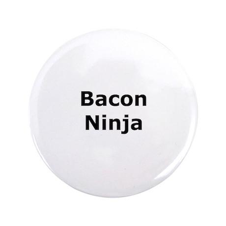 """Bacon Ninja 3.5"""" Button"""