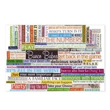 Bunco Postcards (Package of 8)