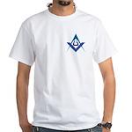 The Tri-point White T-Shirt