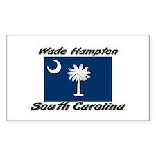 Wade Hampton South Carolina Rectangle Decal