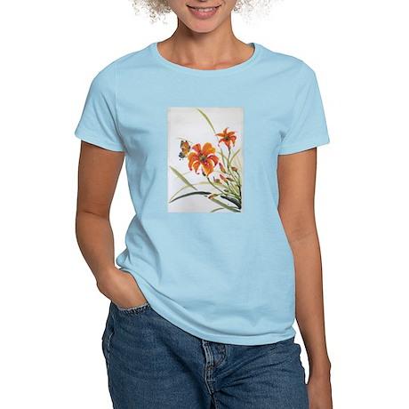 Women's Light T-Shirt- Daylily