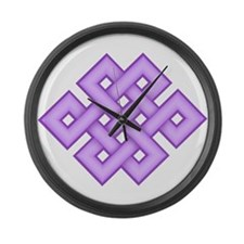 Endless Knot Large Wall Clock