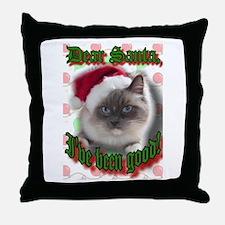 Dear Santa Throw Pillow